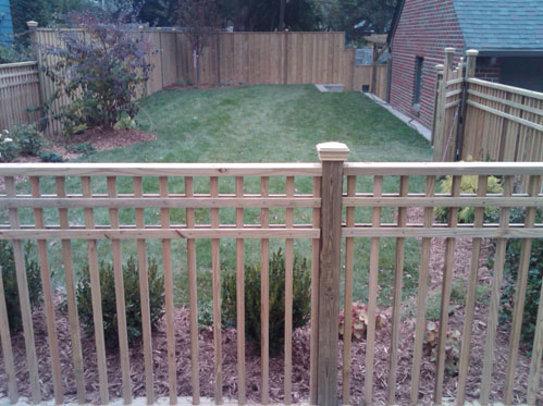 Landscaping work by Burns Lawn Care and Landscaping